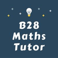B28 Maths tutor logo