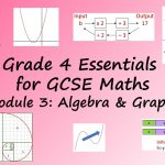 Grade 4 Essentials for GCSE Maths: Module 3: Algebra & Graphs